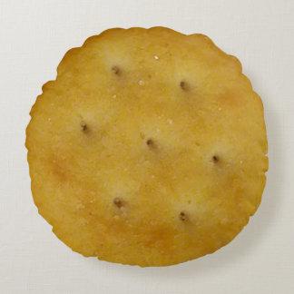 Snack Cracker Round Pillow