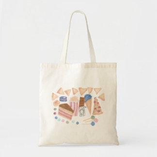 Snack Food Mix Tote Bag