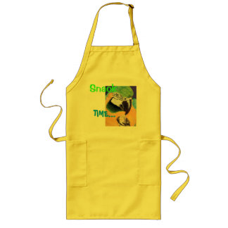"""""""Snack Time"""" Blue & Yellow Macaw Fine Art Apron"""