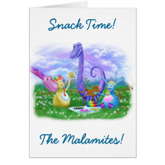 Snack Time! Greeting Card