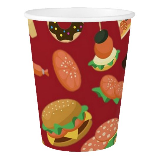 Snack Time Red Picnic Paper Cups Paper Cup