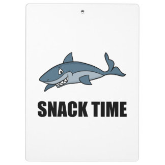 Snack Time Shark Clipboards
