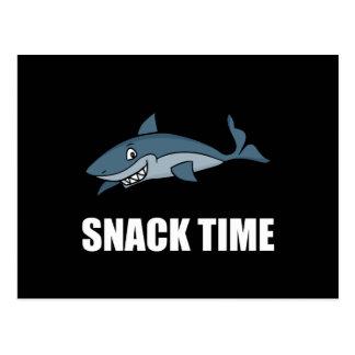 Snack Time Shark Postcard