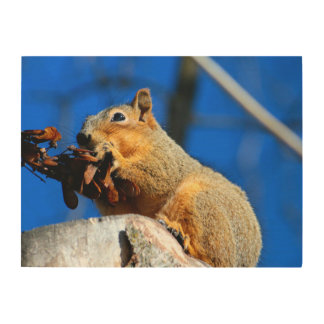 Snack time wood wall decor