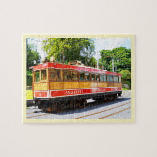 Snaefell mountain train jigsaw puzzle