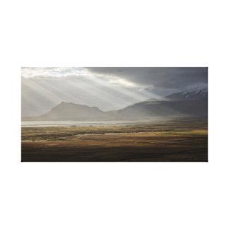 Snaefellsjokul, Iceland Canvas Print