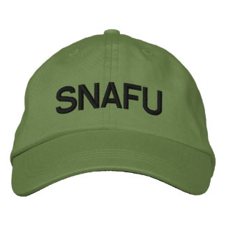 SNAFU EMBROIDERED HAT