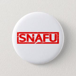 Snafu Stamp 2 Inch Round Button