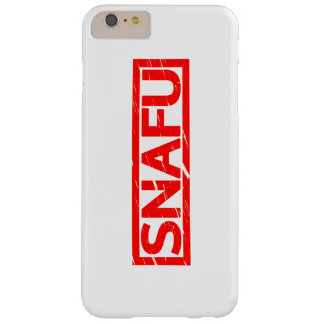 Snafu Stamp Barely There iPhone 6 Plus Case