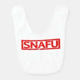 Snafu Stamp Bib