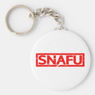Snafu Stamp Keychain