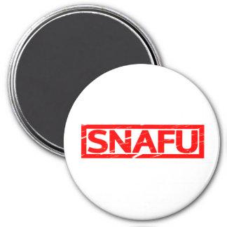 Snafu Stamp Magnet