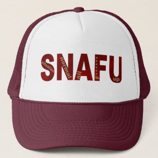 SNAFU TRUCKER HAT