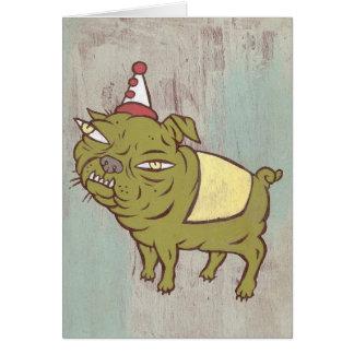Snaggle Dog Card