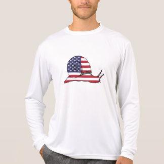 "Snail ""American Flag"" T-Shirt"