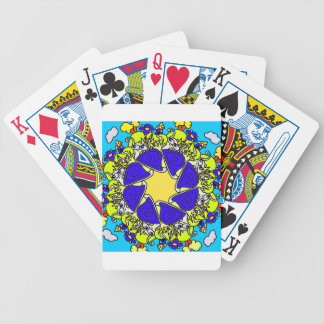 snail cartoon original art designed product gift bicycle playing cards