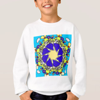 snail cartoon original art designed product gift sweatshirt