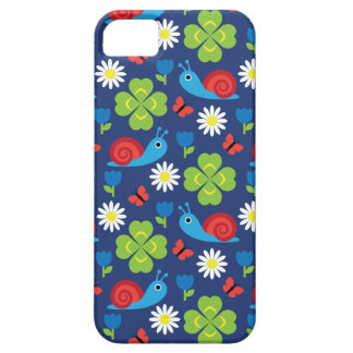 Snail & Clover Seamless Pattern Case For The iPhone 5