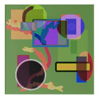 Snail Garden Acrylic Print