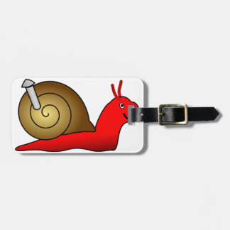 Snail Luggage Tags