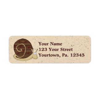 Snail Mail Address Label