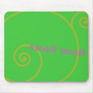 Snail mail de chaux tapis de souris