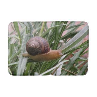 Snail on a Leaf Bath Mat