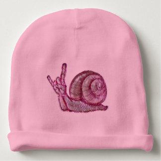 Snail On Baby Beanie