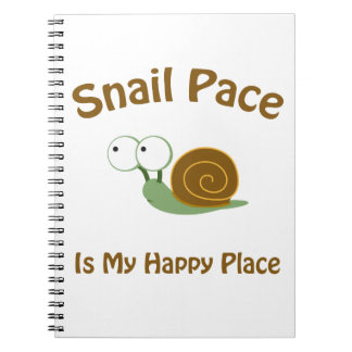 Snail Pace Note Books