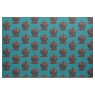 Snail Pastels Drawing Custom Prima Cotton Fabric
