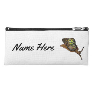 snail pencil case with name