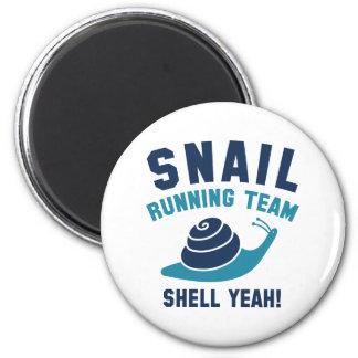 Snail Running Team Magnet