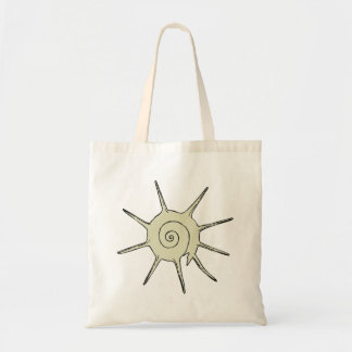 Snail Shell Tote Bags