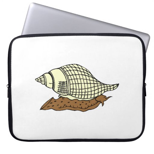 Snail Shell Laptop Sleeves