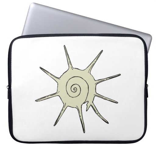 Snail Shell Laptop Computer Sleeves