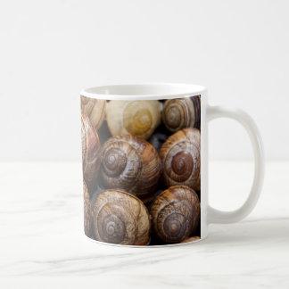 Snail Shells Basic White Mug