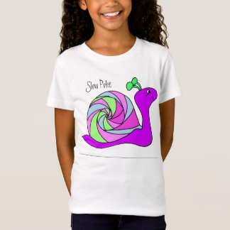Snail Shirt for Girls