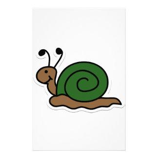 snail stationery