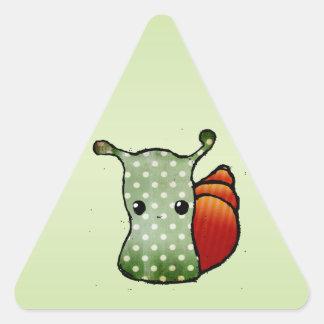 Snail Triangle Sticker