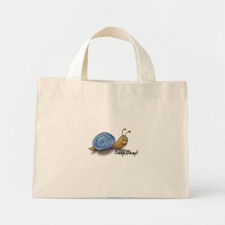 Snail striped bag