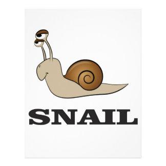 snail tale letterhead