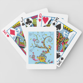 Snail Tree Bicycle Playing Cards