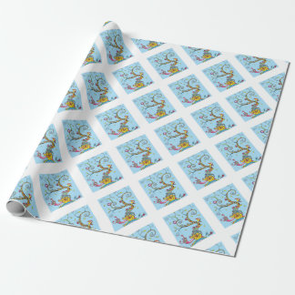 Snail Tree Wrapping Paper