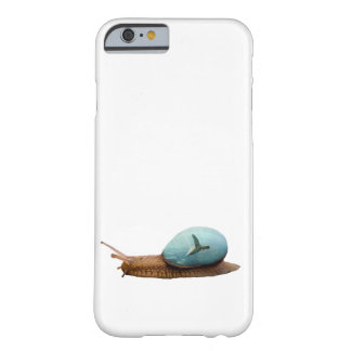 Snail Turtle Double Exposure Barely There iPhone 6 Case