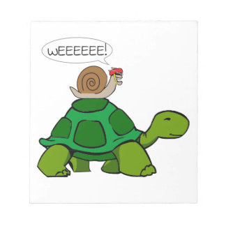 Snail & Turtle - Turbo Duo Notepad