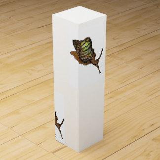 snail wine box