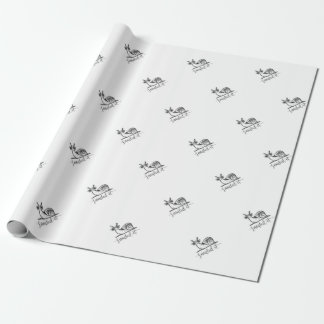 Snailed it wrapping paper