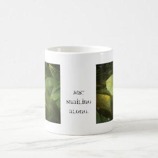 Snailing along. #snail #bug #insects #nature #spri coffee mug