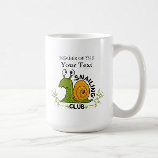 Snailing Club Member Coffee Mug