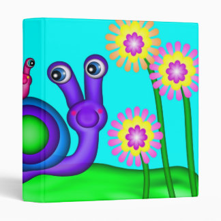 Snails 3 Ring Binders